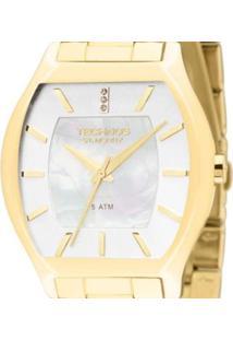 Relógio Feminino Technos Analógico - Feminino-Dourado