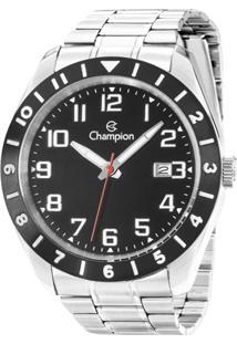 4b8eea6afe8 Eclock. Relógio Aço Dobrável Analógico Masculino Magnum Champion Clock  Ca31435t