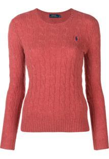 Farfetch. Polo Ralph Lauren Suéter De Tricô - Vermelho c6a4627aafc