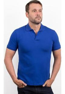 Camiseta Polo 4You Adulta Masculina - Masculino-Azul Royal