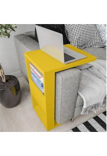 Mesa De Apoio Book Amarelo