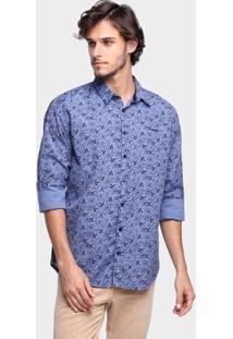 Camisa Sommer Slim Arabescos - Masculino