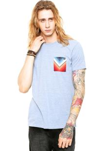 Camiseta Billabong Team Pocket Azul