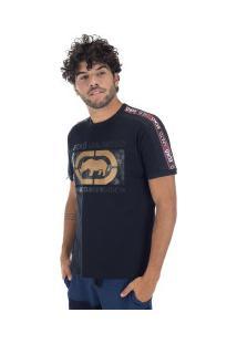 Camiseta Ecko Estampada E519A - Masculina - Preto