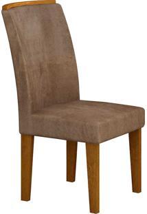 Cadeira Lunara - Rufato - Imbuia / Chocolate
