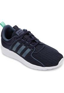 Tênis Adidas Cloudfoam Lite Racer Feminino - Feminino-Azul