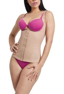 Modelador Corselet Body Shaper Chocolate 431 Esbelt
