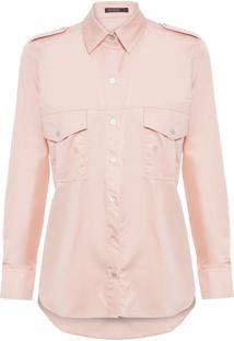 Camisa Feminina Safari Rose - Rosa