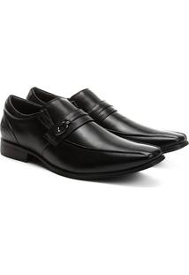 Sapato Social Couro Pipper Spencer Masculino - Masculino-Preto