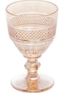 Conjunto 6 Taças Vidro Para Vinho Mirano Âmbar 210Ml