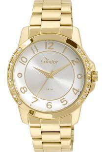 Relógio Condor Feminino Analógico Dourado Co2035Kom4K - Kanui