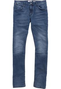 Calça John John Slim Catania 3D Masculina (Jeans Escuro, 40)