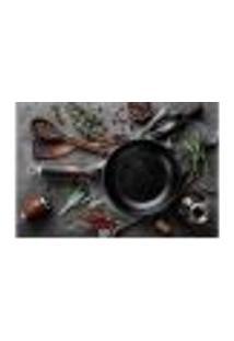Painel Adesivo De Parede - Cozinha - Restaurante - 1251Pnm
