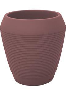 Vaso De Plástico Egípcio-L Terracota - Tramontina