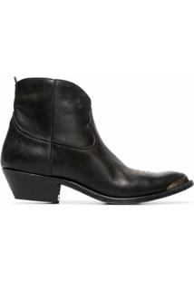 Golden Goose Ankle Boot Young - Preto