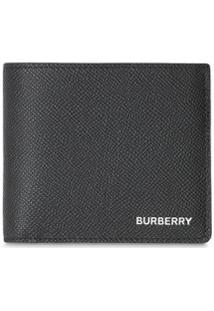 Burberry Carteira Com Monograma - Preto