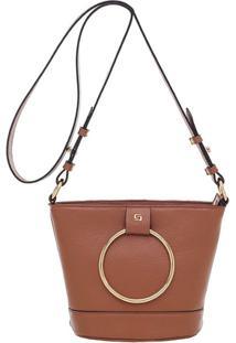 Bolsa Smartbag Transversal - Feminino-Caramelo