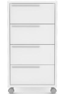 Gaveteiro Maia- Branco- 75,8X40X45Cm- Politornopolitorno