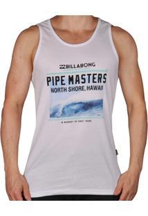 Regata Billabong Pipe Masters - Unissex-Branco
