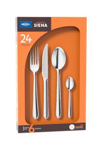 Faqueiro 24 Peças, Compacto - Siena - Brinox