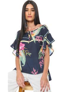7af972177 Blusa Azul Marinho Mercatto feminina | Gostei e agora?