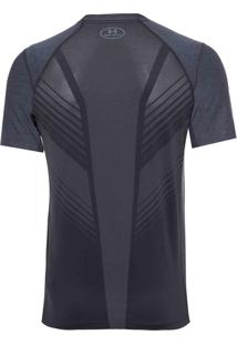 Camiseta Masculina Supervent Fitted Ss - Cinza