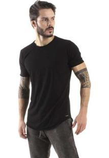 Camiseta Brohood Longline Curve Reverse Masculina - Masculino