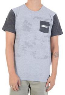 Camiseta Oakley Highest Camo Masculina - Masculino