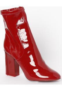 Bota Gabrielle - Vermelha - Salto: 10Cm - Le Lile Lis Blanc