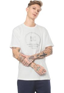 Camiseta Dc Shoes Fatal Sitting Off-White