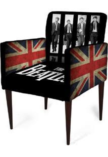 Cadeira Decorativa Mademoiselle Plus Imp Digital (2 Peças) Imp Digital 103 Beatles - Kanui