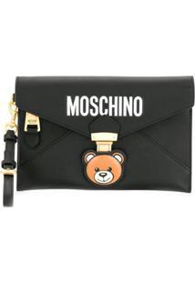 Moschino Clutch Teddy Bear - Preto