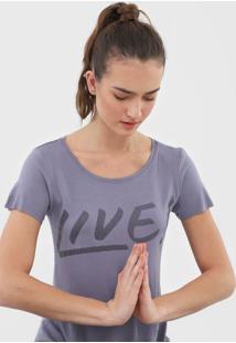 Camiseta Live! Signature Azul