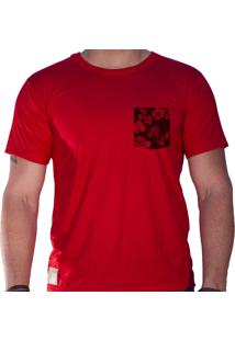 Camiseta Sandro Clothing Lee Vermelha