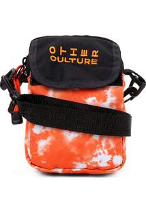 Bolsa Shoulder Bag Other Culture Tie Dye - Masculino-Laranja
