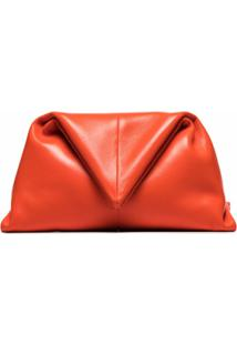 Bottega Veneta Clutch Envelope - Laranja