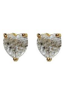 Brinco Dourado Ania Store Heart