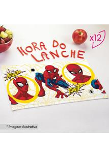 Jogo De Toalhas De Lancheira Spider Manâ®- Vermelho & Amalepper