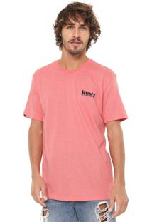 Camiseta Rusty The Firm Coral