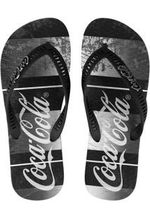 Chinelo Coca-Cola Rust Bands - Masculino