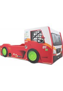 Cama Carro Truck Vermelho