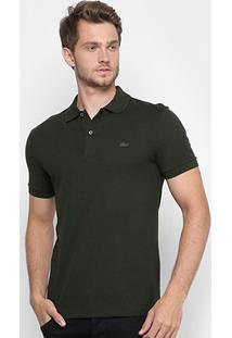Camisa Polo Lacoste Piquet Regular Fit Masculina - Masculino