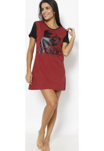 Camisola Bicolor Star Warsâ®- Vermelha & Pretalupo