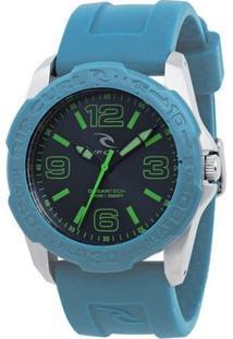 Relógio De Pulso Ripcurl Tubes - Masculino-Azul Claro