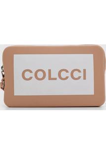 Clutch Colcci Case Califórnia Nude