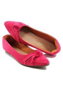 Sapatilha Confort - Enfeite De Nó - Camurça Pink
