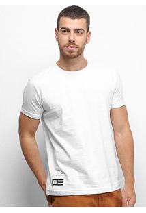 Camiseta Industrie Listras Costas Masculina - Masculino-Branco