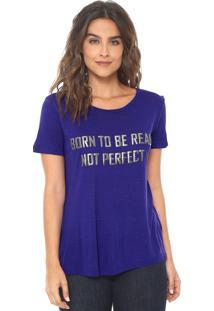 Camiseta Canal Real Azul
