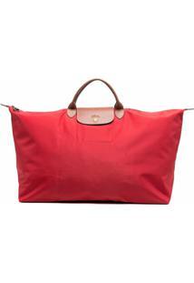 Longchamp Mala Le Pliage Grande - Vermelho
