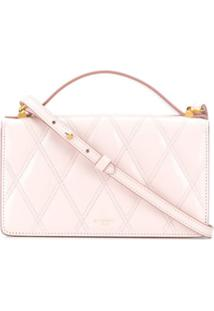 Givenchy Bolsa Transversal Matelasê Mini - Rosa